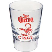 2oz Fluted Shot Glass- SGF200 (Price=Unit Price)