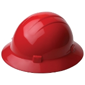 Hard Hat - Americana Full Brim Ratchet Suspension (Blank)