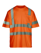 Class 3 Safety Orange Short Sleeve T-Shirt (MAX480)