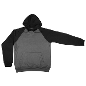 """Hoodie"" - Adult Raglan Pullover Sweatshirt (USA MADE)"