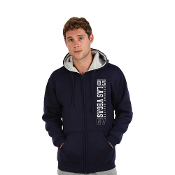 """Hoodie"" - ADULT FULL ZIP SWEATSHIRT (USA MADE)"