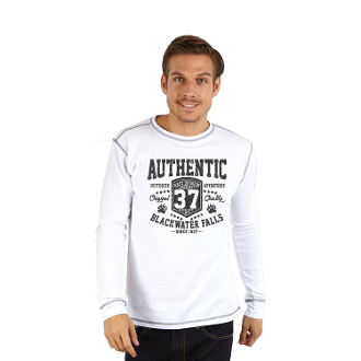 Men's Long Sleeve Crew-Neck Thermal